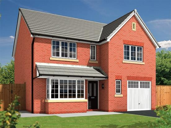 4 Bedrooms Detached House for sale in Almond Brook Road, Standish, Wigan